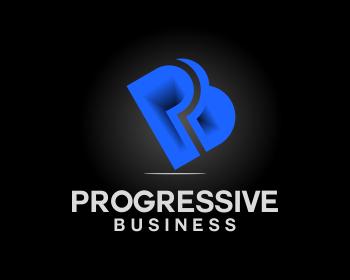 Logo Design by Net Bih - Entry No. 155 in the Logo Design Contest Captivating Logo Design for Progressive Business.