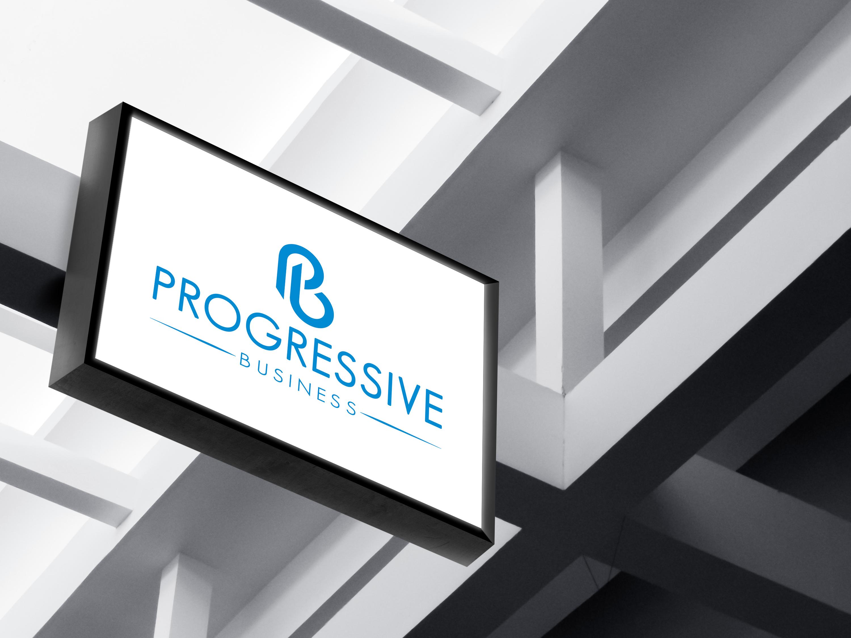 Logo Design by AKM Fazley Rabbi Faruque - Entry No. 160 in the Logo Design Contest Captivating Logo Design for Progressive Business.