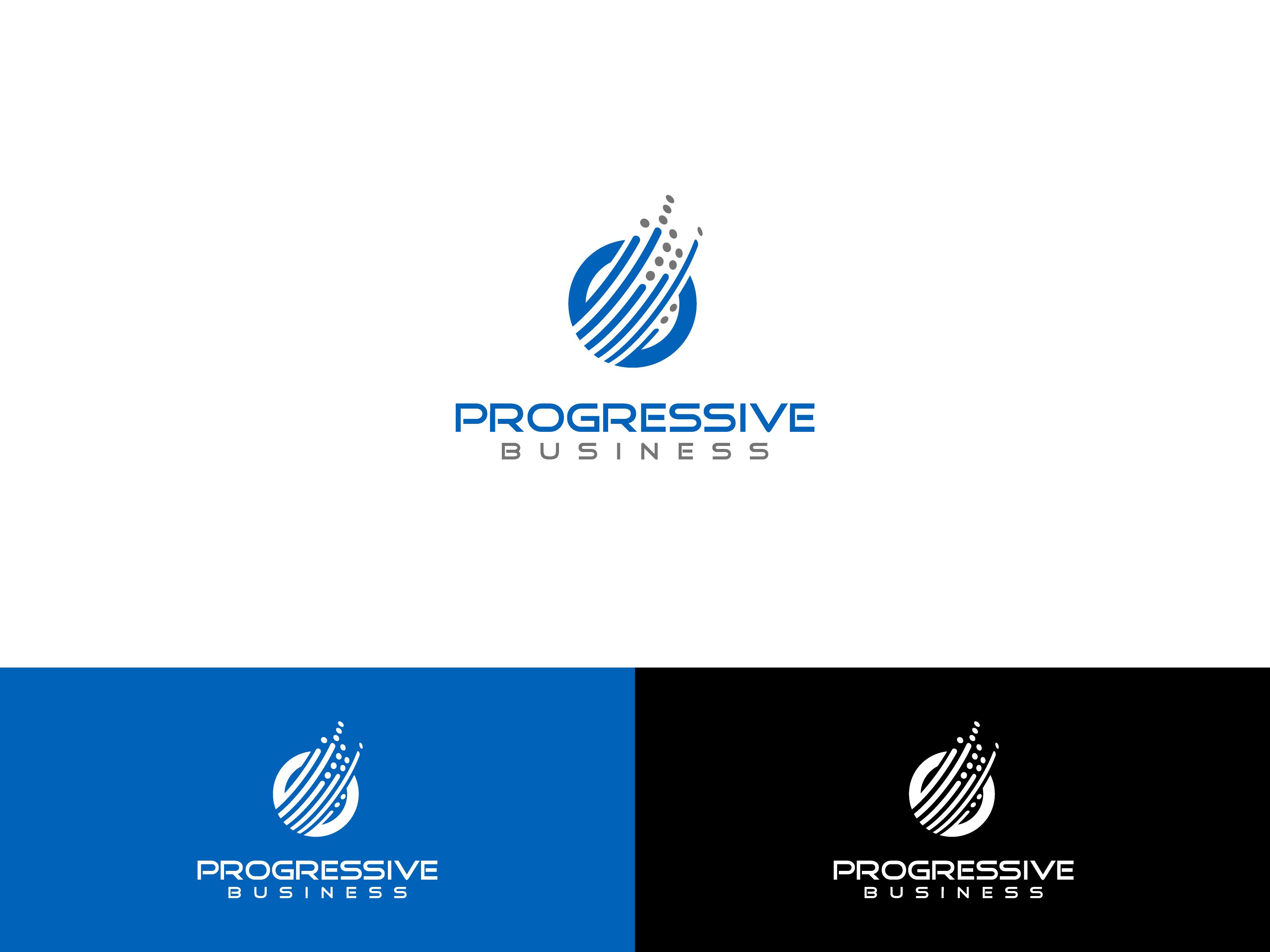 Logo Design by Shivaprasad Sangondimath - Entry No. 180 in the Logo Design Contest Captivating Logo Design for Progressive Business.