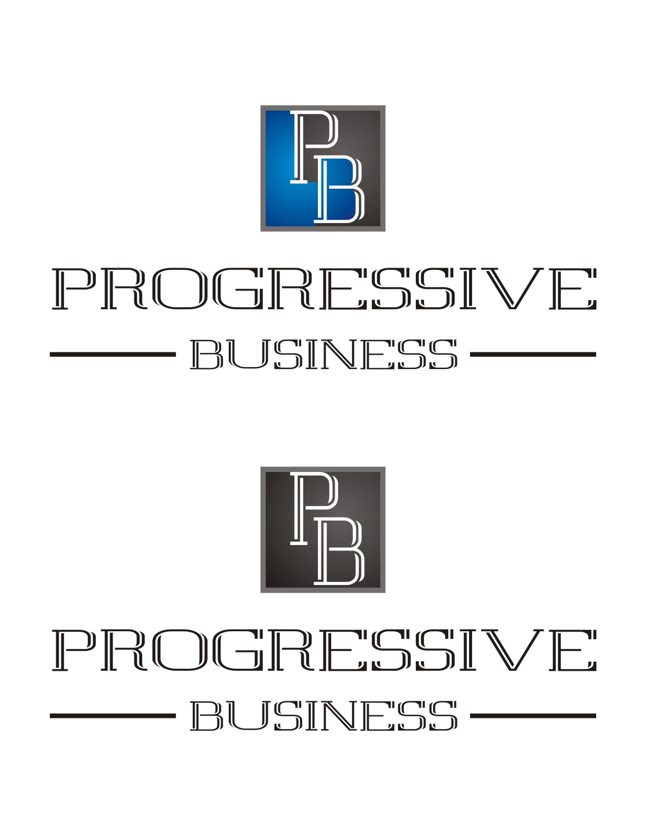 Logo Design by Spider Graphics - Entry No. 184 in the Logo Design Contest Captivating Logo Design for Progressive Business.
