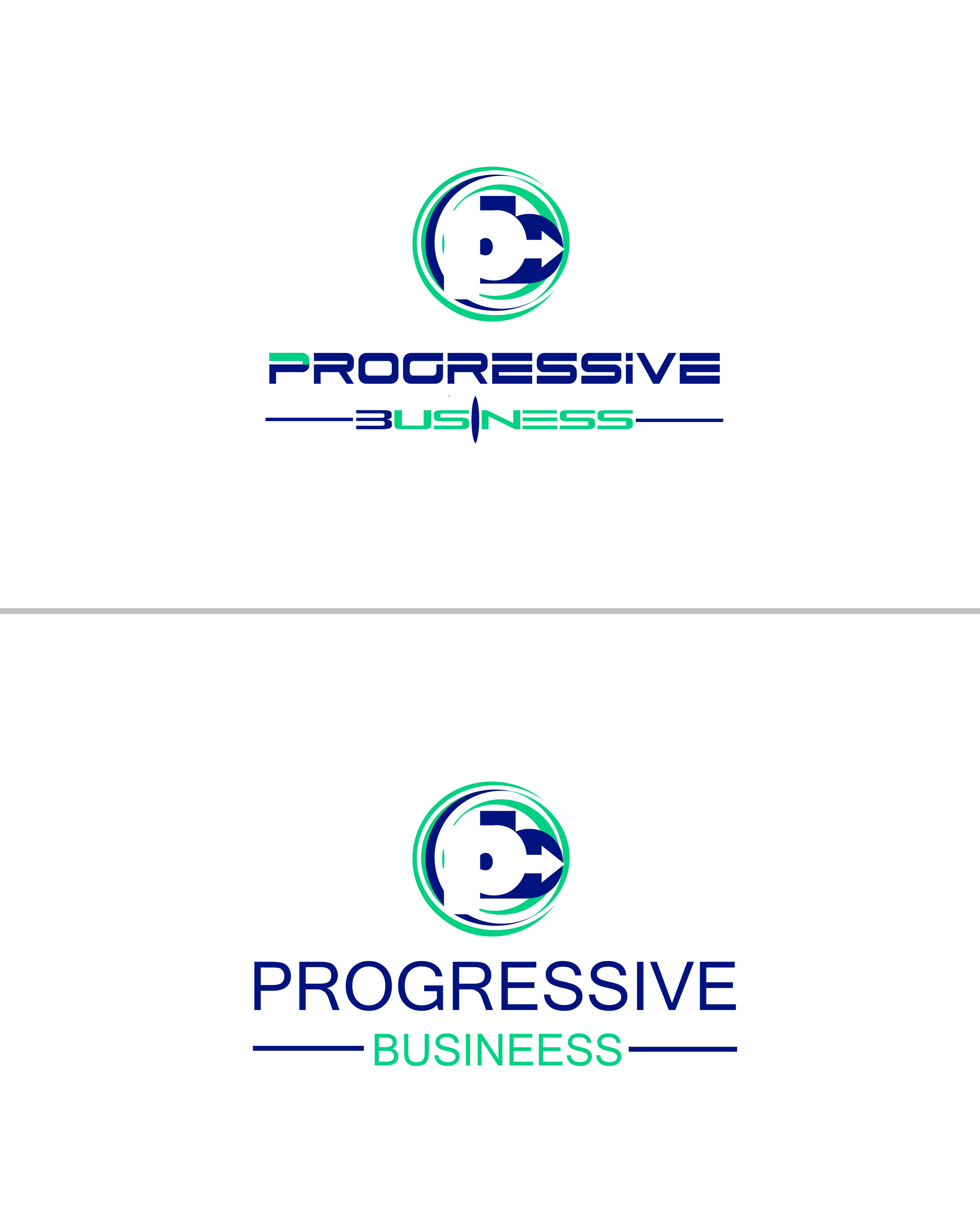 Logo Design by Roberto Bassi - Entry No. 211 in the Logo Design Contest Captivating Logo Design for Progressive Business.