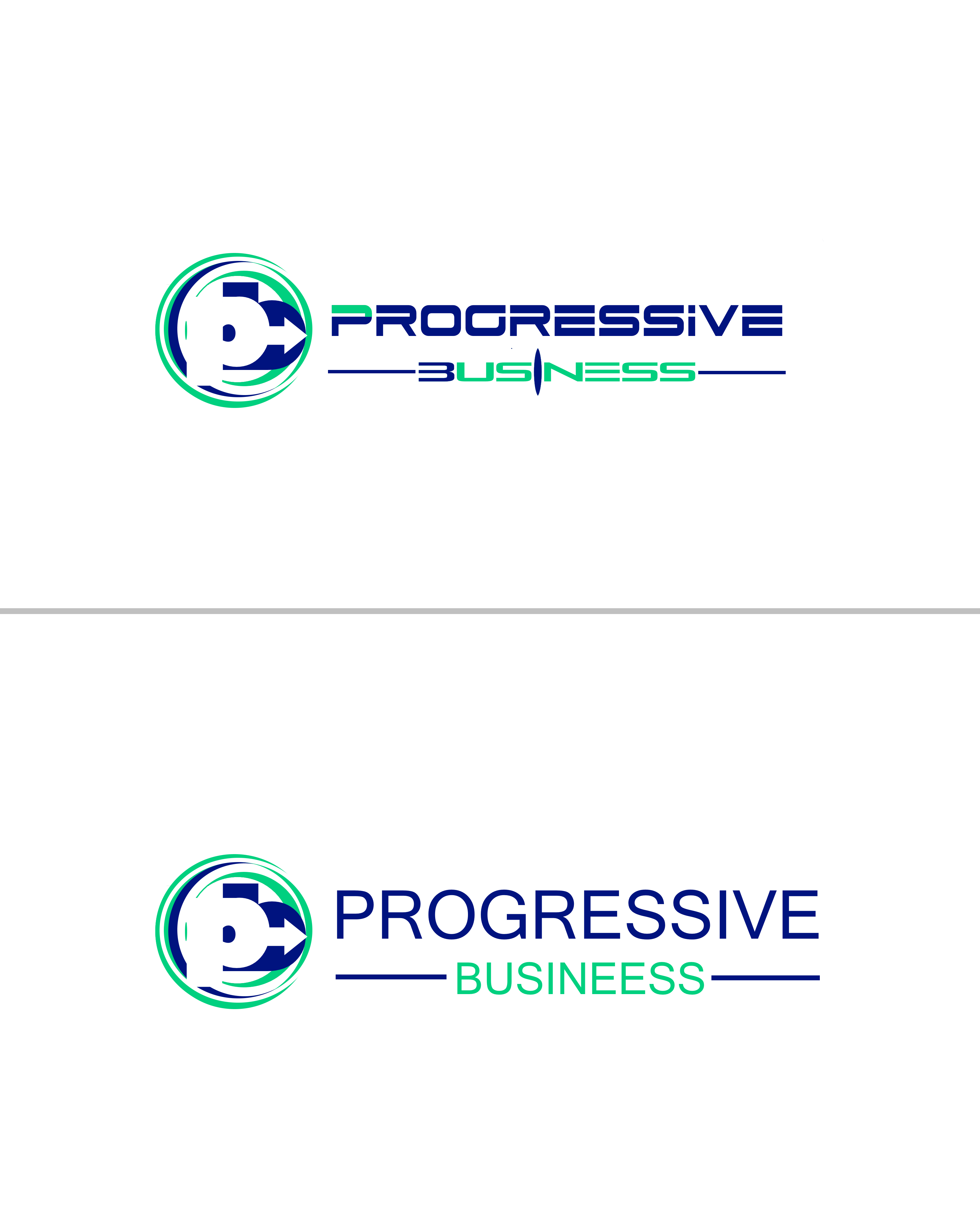 Logo Design by Roberto Bassi - Entry No. 212 in the Logo Design Contest Captivating Logo Design for Progressive Business.