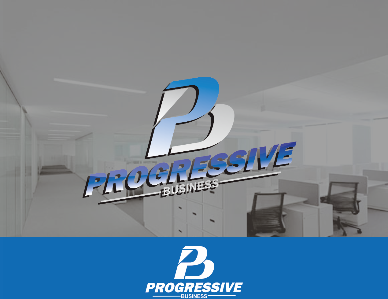 Logo Design by Mokhamad Ngabduloh - Entry No. 224 in the Logo Design Contest Captivating Logo Design for Progressive Business.