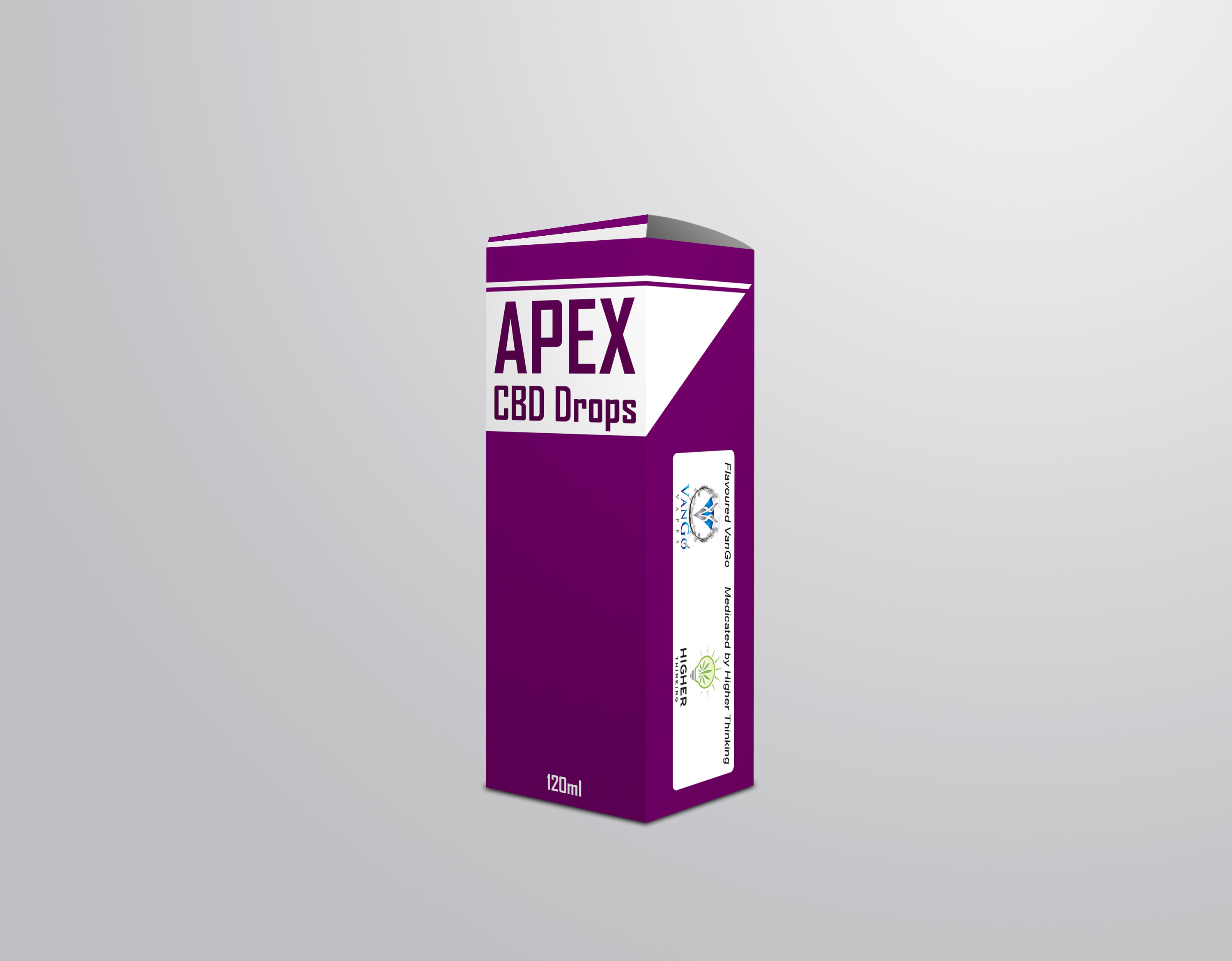 Packaging Design by chAnDOS - Entry No. 2 in the Packaging Design Contest Packaging Design for Apex CBD Drops!.