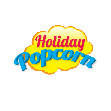 Logo Design by Hoshi.Sakha - Entry No. 55 in the Logo Design Contest Holiday Popcorn.