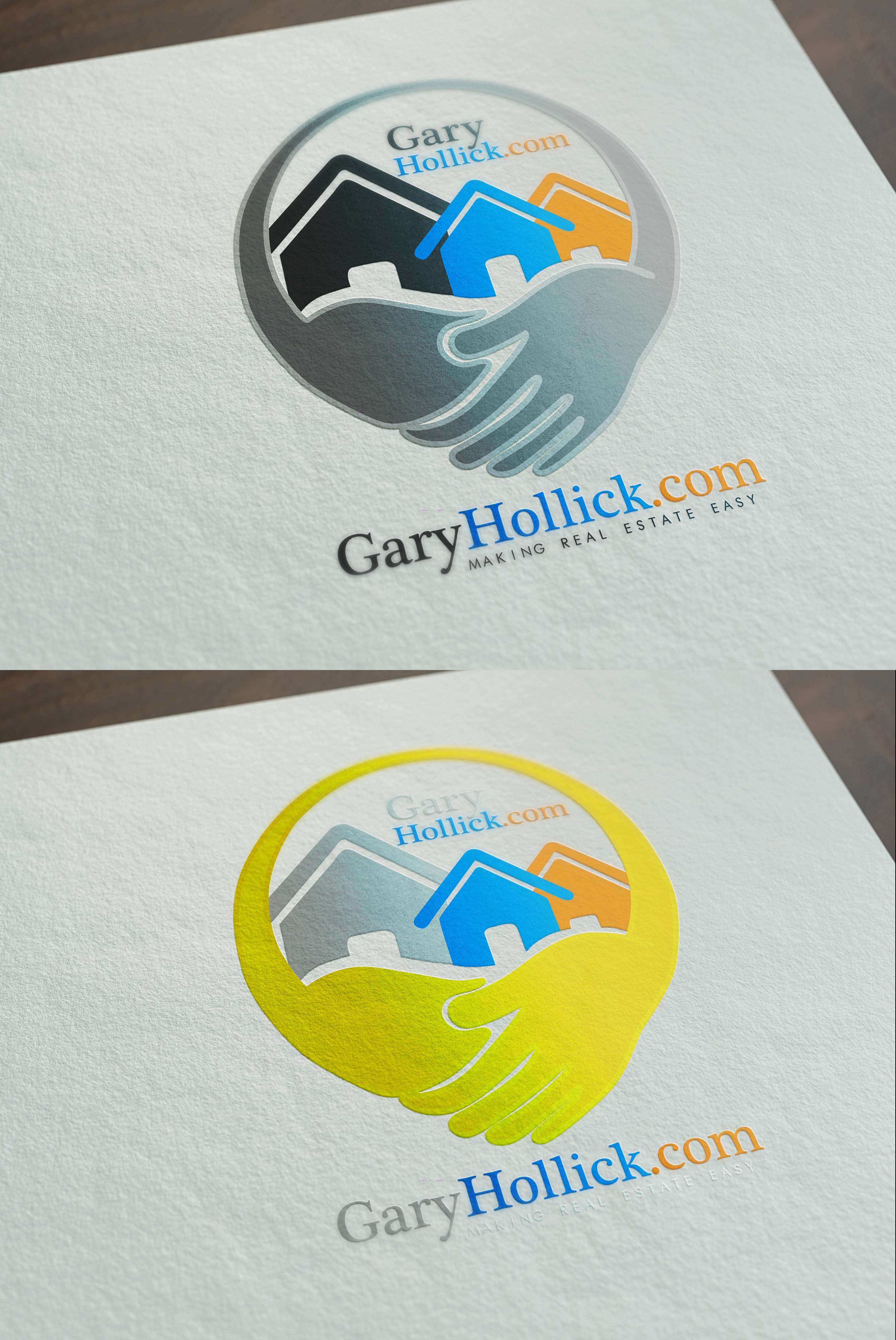 Logo Design by sgtmcoy - Entry No. 52 in the Logo Design Contest New Logo Design for GaryHollick.com.
