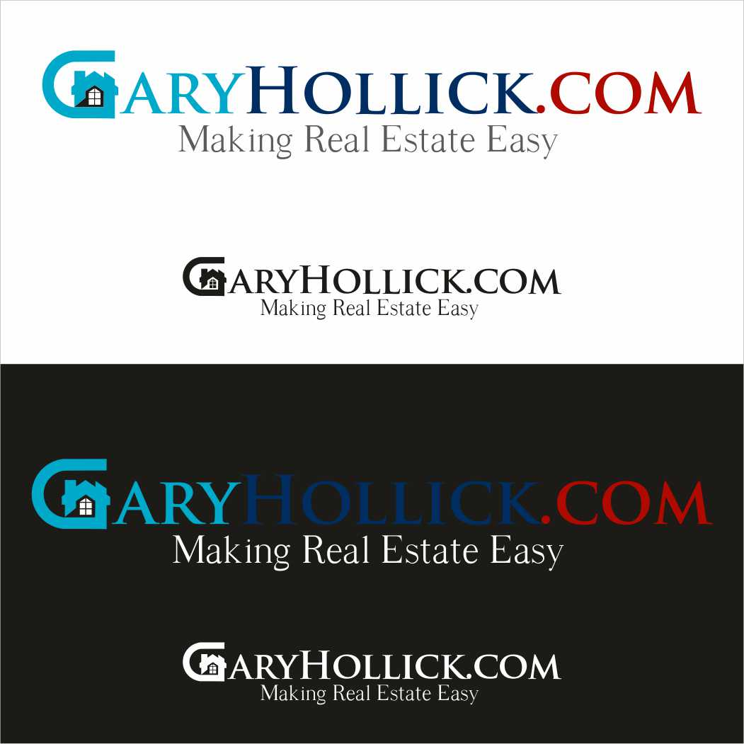 Logo Design by Taufiq Ardhani - Entry No. 53 in the Logo Design Contest New Logo Design for GaryHollick.com.