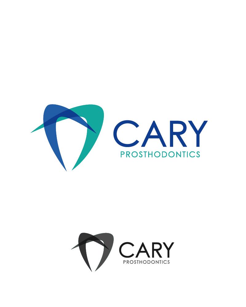Logo Design by Private User - Entry No. 2 in the Logo Design Contest Cary Prosthodontics Logo Design.