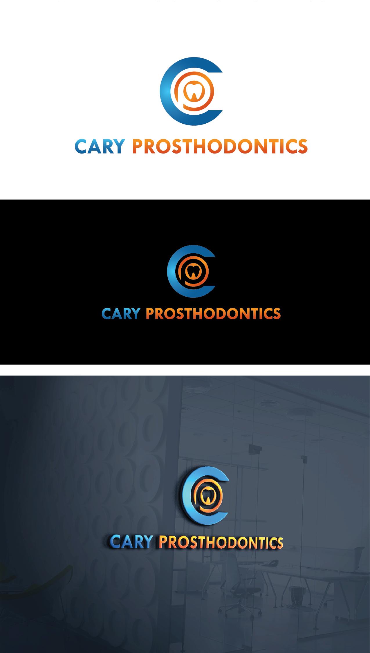 Logo Design by Private User - Entry No. 12 in the Logo Design Contest Cary Prosthodontics Logo Design.