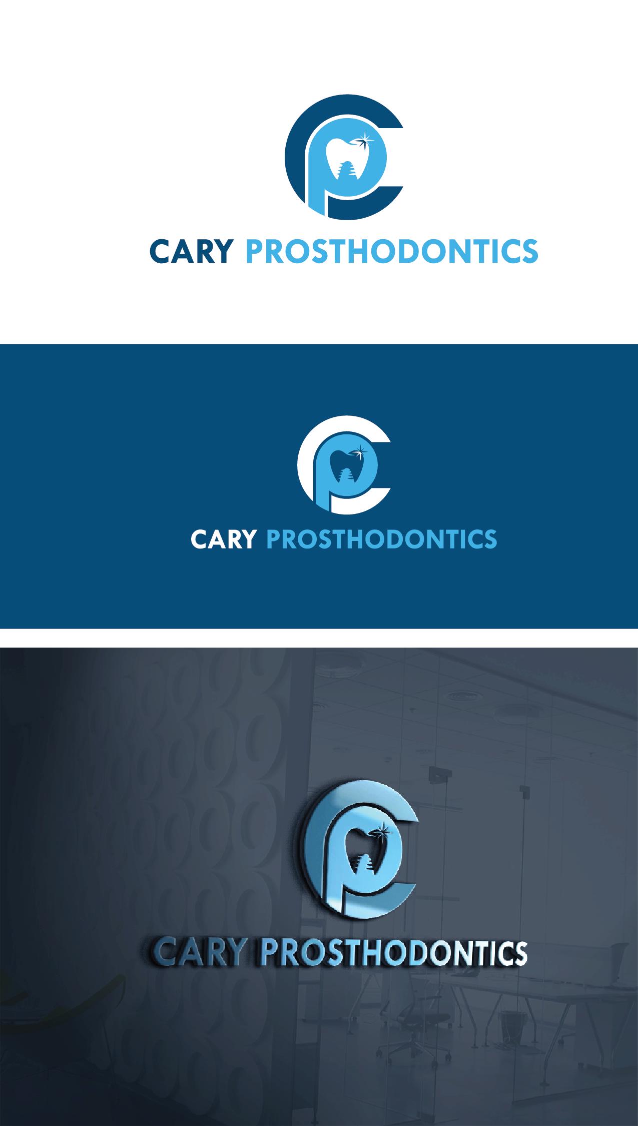 Logo Design by Private User - Entry No. 14 in the Logo Design Contest Cary Prosthodontics Logo Design.