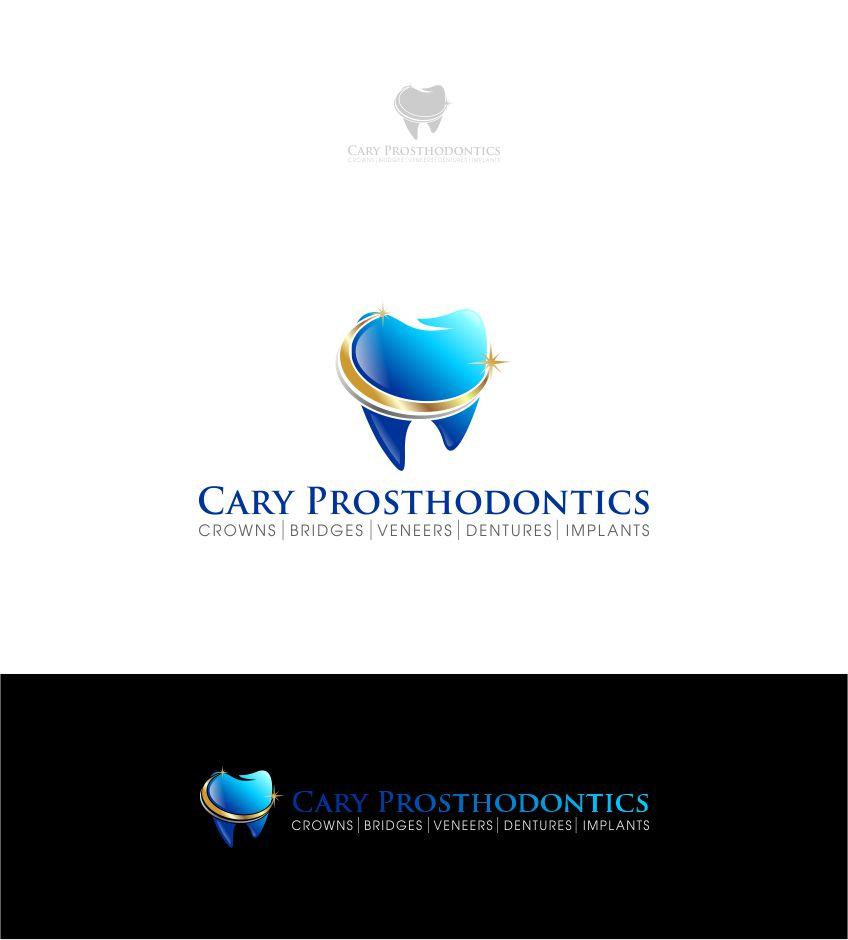 Logo Design by Raymond Garcia - Entry No. 18 in the Logo Design Contest Cary Prosthodontics Logo Design.