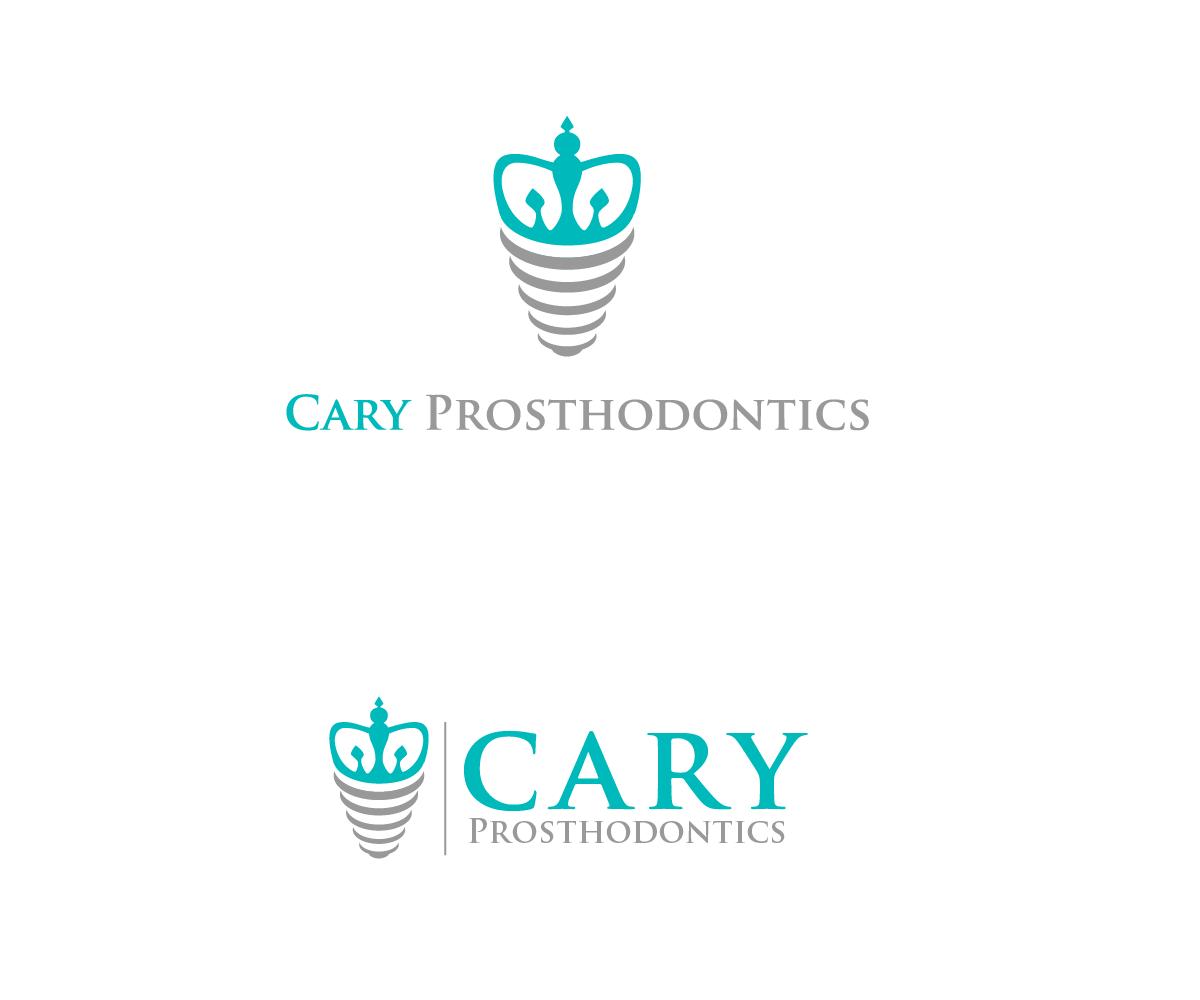 Logo Design by Juan Luna - Entry No. 45 in the Logo Design Contest Cary Prosthodontics Logo Design.