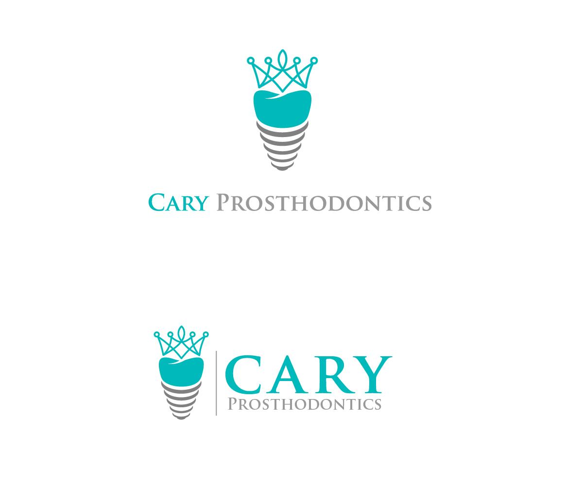 Logo Design by Juan Luna - Entry No. 46 in the Logo Design Contest Cary Prosthodontics Logo Design.