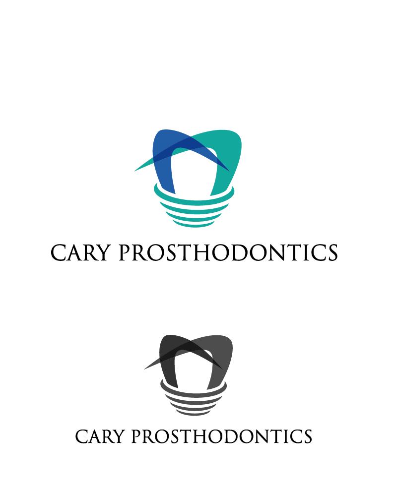 Logo Design by Private User - Entry No. 50 in the Logo Design Contest Cary Prosthodontics Logo Design.