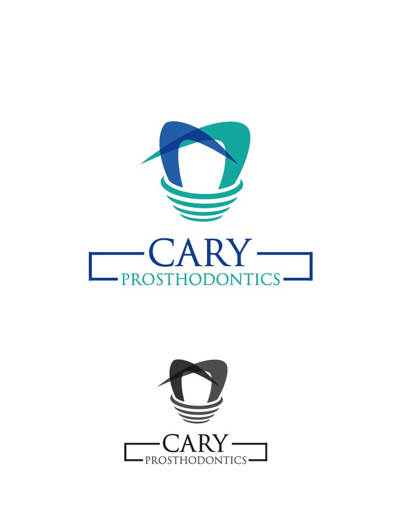 Logo Design by Private User - Entry No. 51 in the Logo Design Contest Cary Prosthodontics Logo Design.