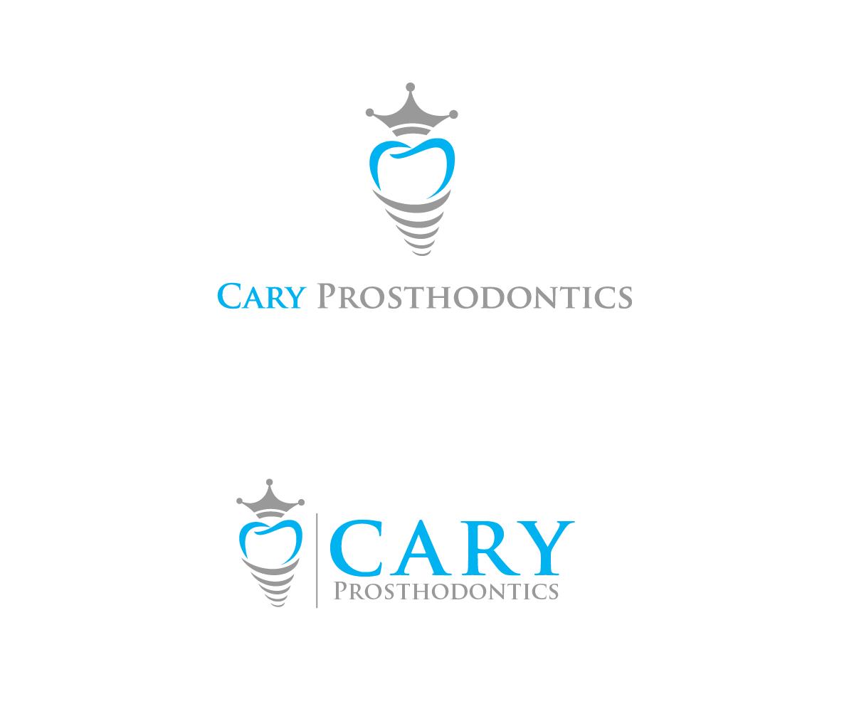 Logo Design by Juan Luna - Entry No. 53 in the Logo Design Contest Cary Prosthodontics Logo Design.