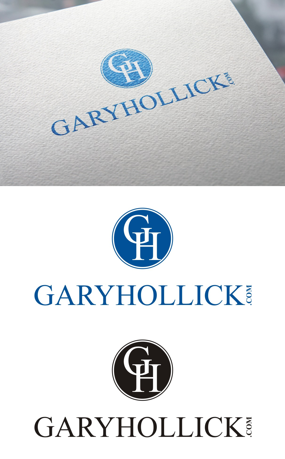 Logo Design by Spider Graphics - Entry No. 86 in the Logo Design Contest New Logo Design for GaryHollick.com.