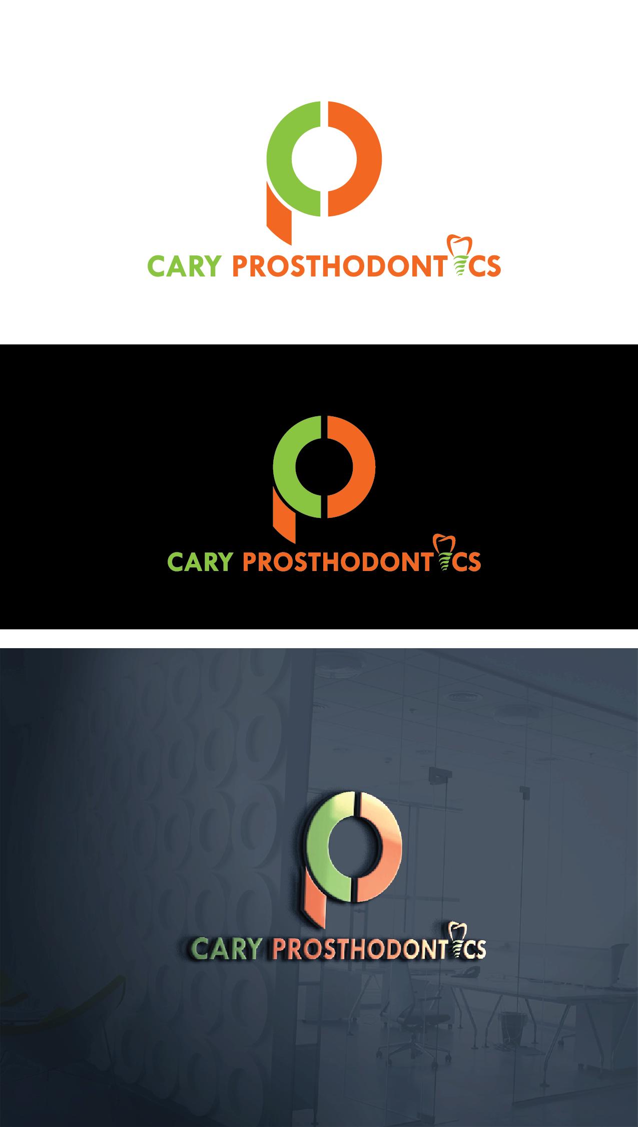 Logo Design by Private User - Entry No. 80 in the Logo Design Contest Cary Prosthodontics Logo Design.