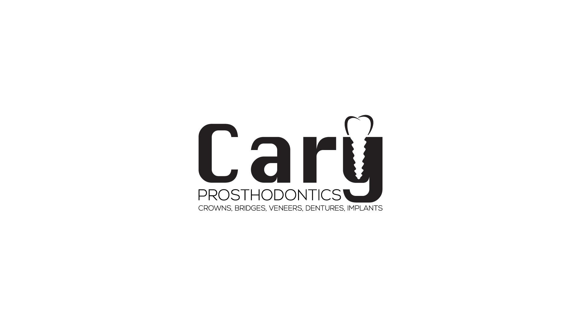Logo Design by MD SHOHIDUL ISLAM - Entry No. 81 in the Logo Design Contest Cary Prosthodontics Logo Design.
