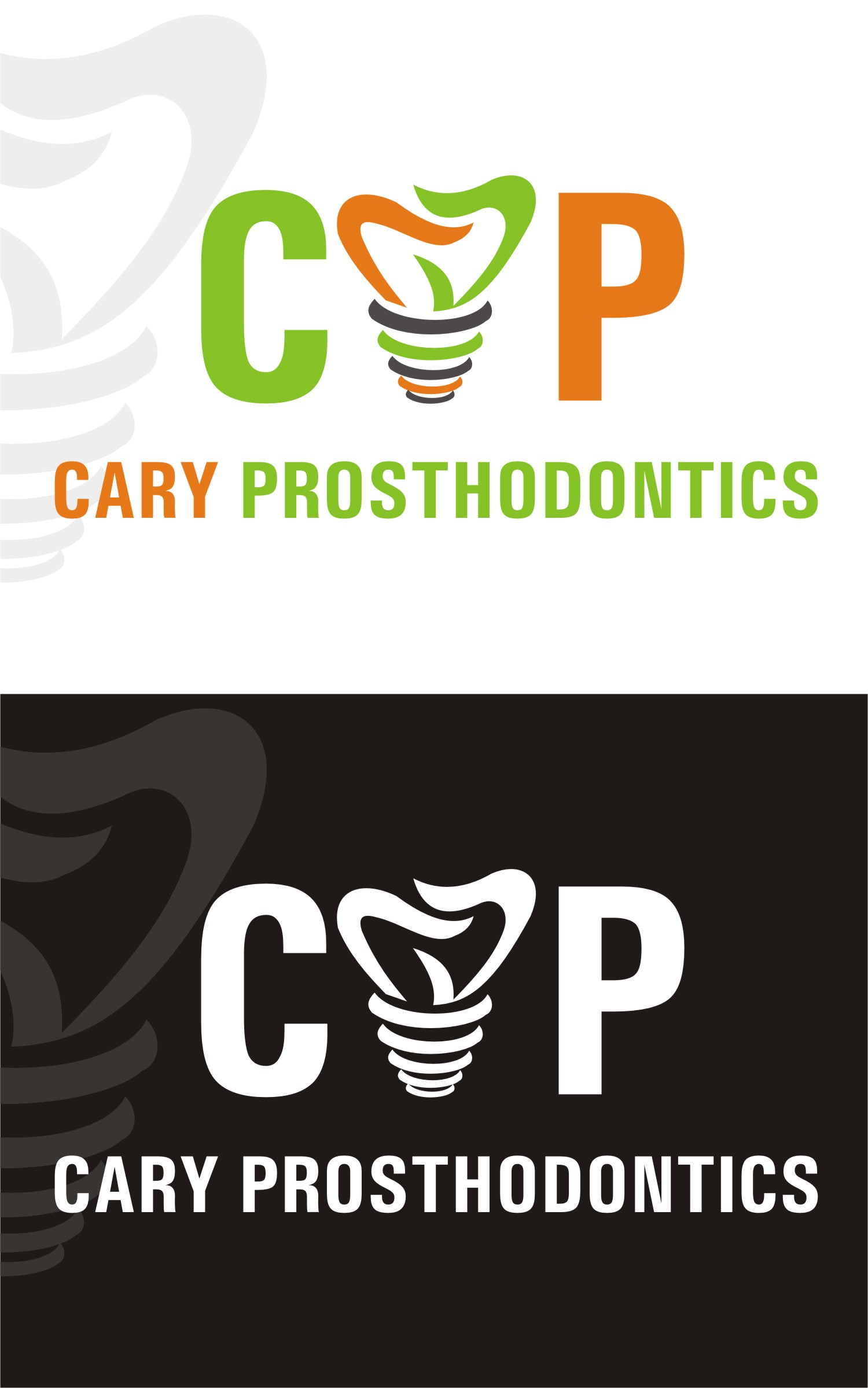 Logo Design by Spider Graphics - Entry No. 90 in the Logo Design Contest Cary Prosthodontics Logo Design.