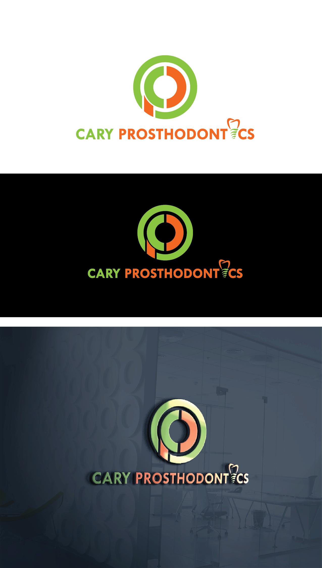 Logo Design by Private User - Entry No. 92 in the Logo Design Contest Cary Prosthodontics Logo Design.