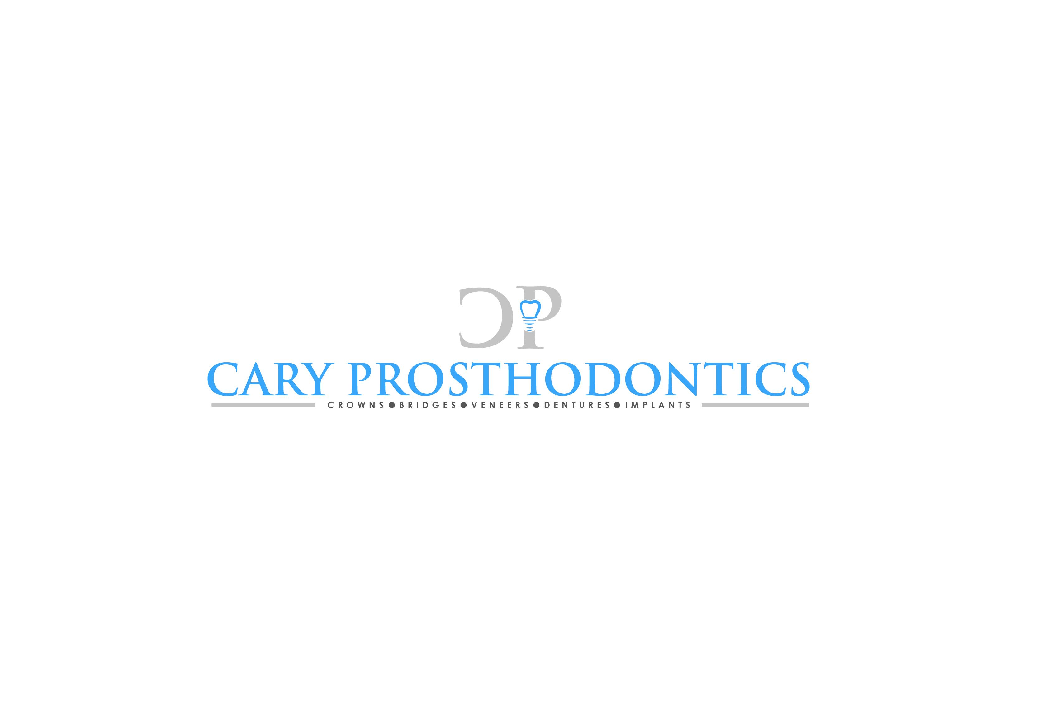 Logo Design by Cyril bail Geronimo - Entry No. 93 in the Logo Design Contest Cary Prosthodontics Logo Design.