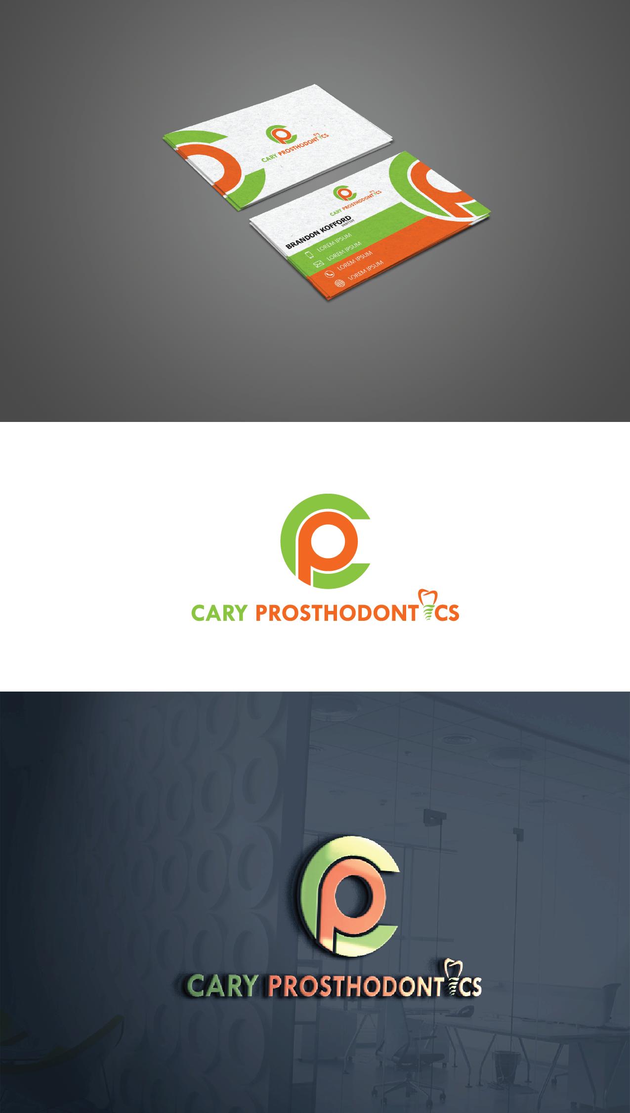 Logo Design by Private User - Entry No. 96 in the Logo Design Contest Cary Prosthodontics Logo Design.