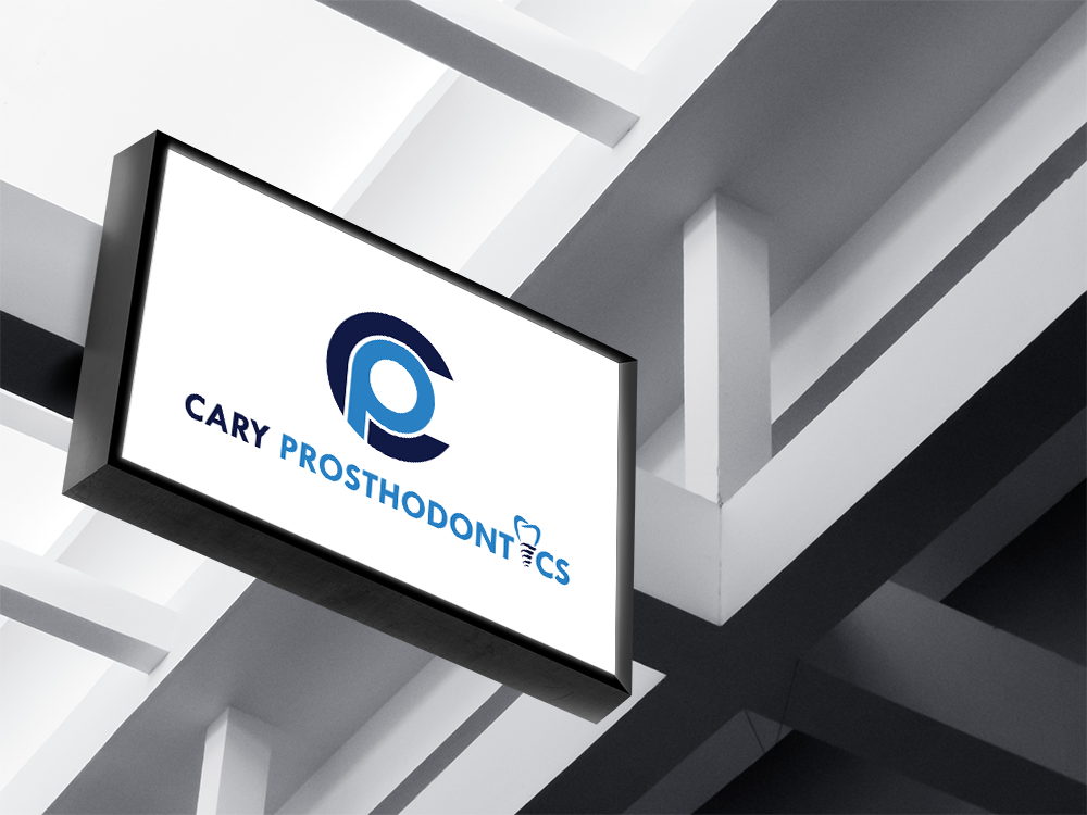 Logo Design by Private User - Entry No. 122 in the Logo Design Contest Cary Prosthodontics Logo Design.