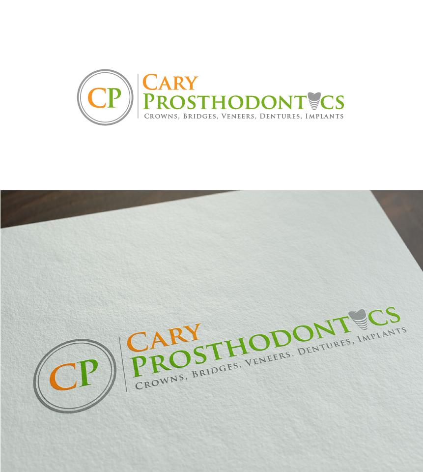 Logo Design by Juan Luna - Entry No. 123 in the Logo Design Contest Cary Prosthodontics Logo Design.