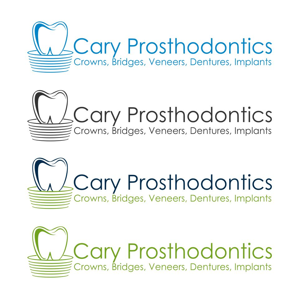 Logo Design by Febrian Adi Dwi Nurcahyo - Entry No. 135 in the Logo Design Contest Cary Prosthodontics Logo Design.