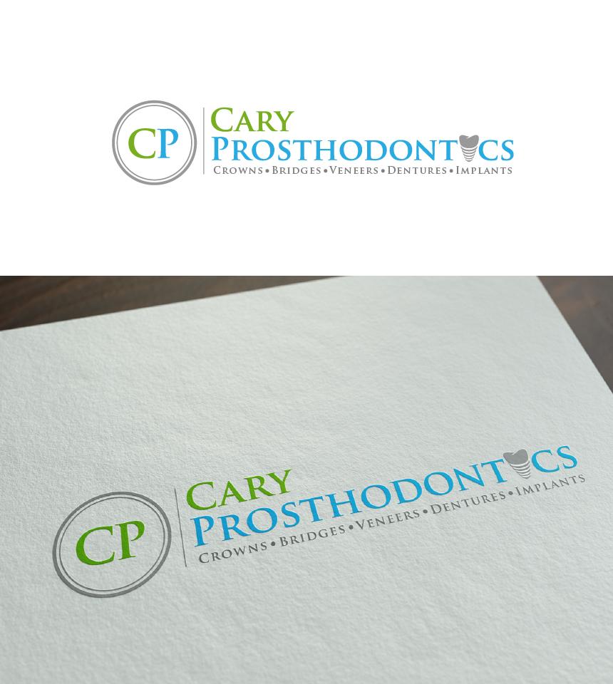 Logo Design by Juan Luna - Entry No. 141 in the Logo Design Contest Cary Prosthodontics Logo Design.