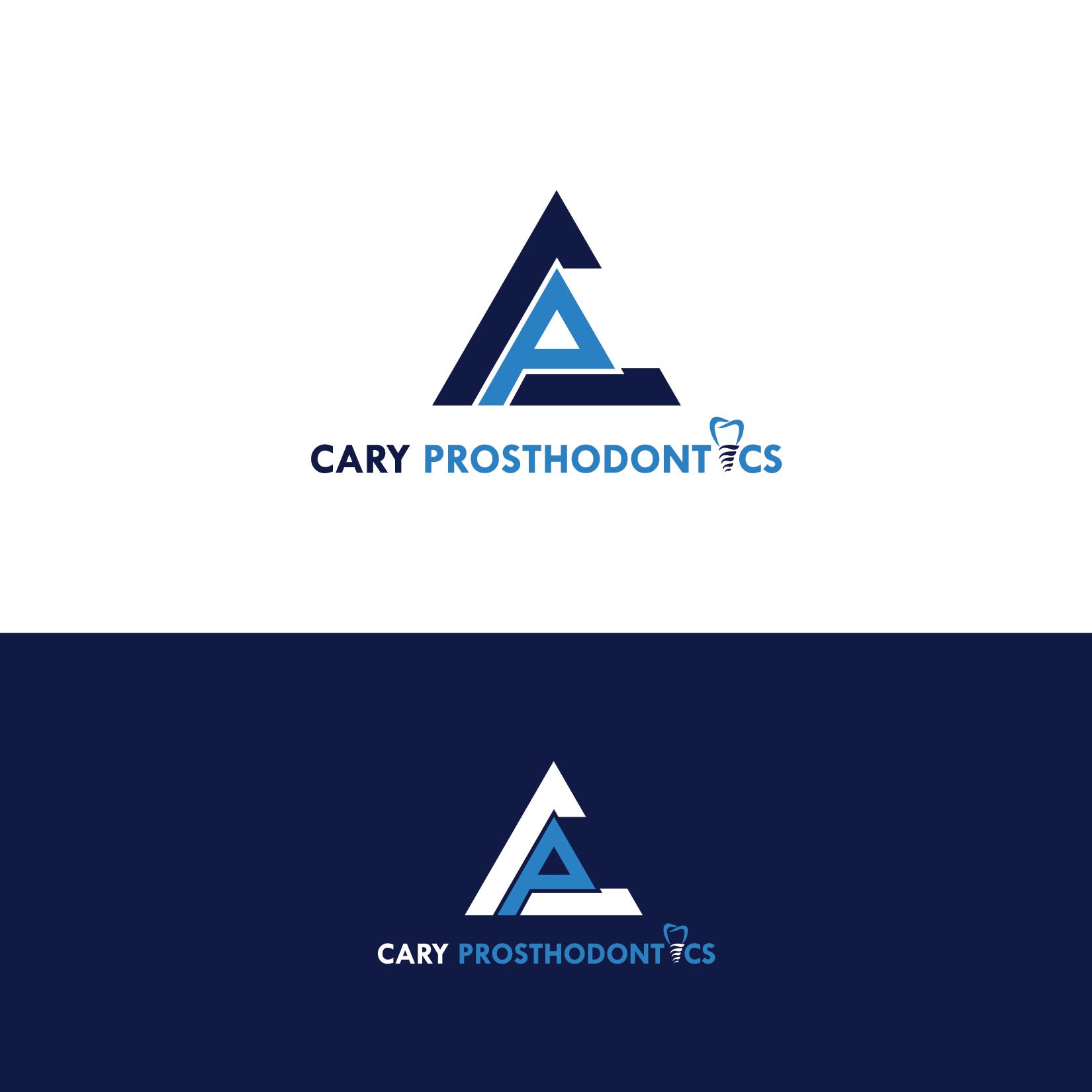 Logo Design by Private User - Entry No. 157 in the Logo Design Contest Cary Prosthodontics Logo Design.