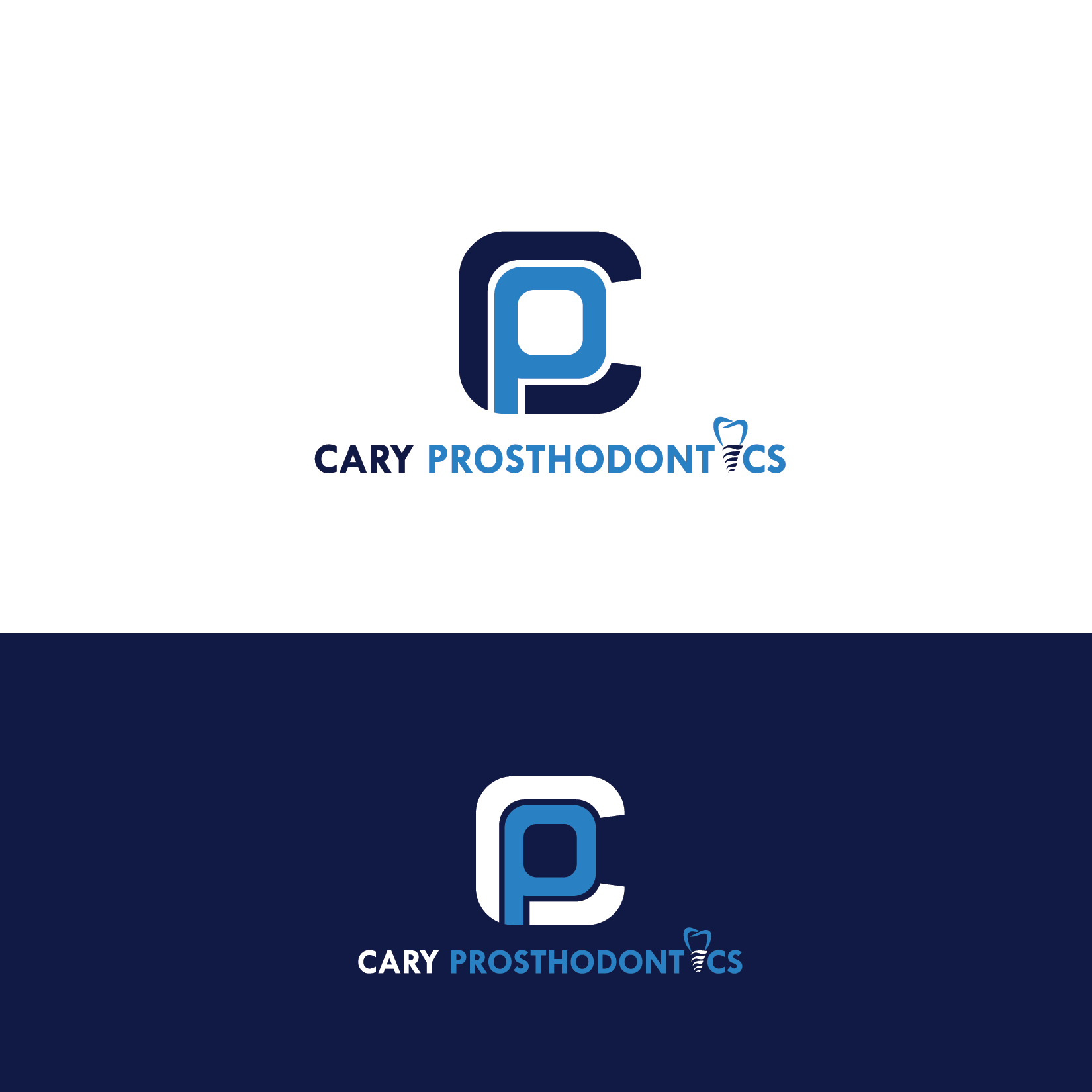 Logo Design by Private User - Entry No. 158 in the Logo Design Contest Cary Prosthodontics Logo Design.