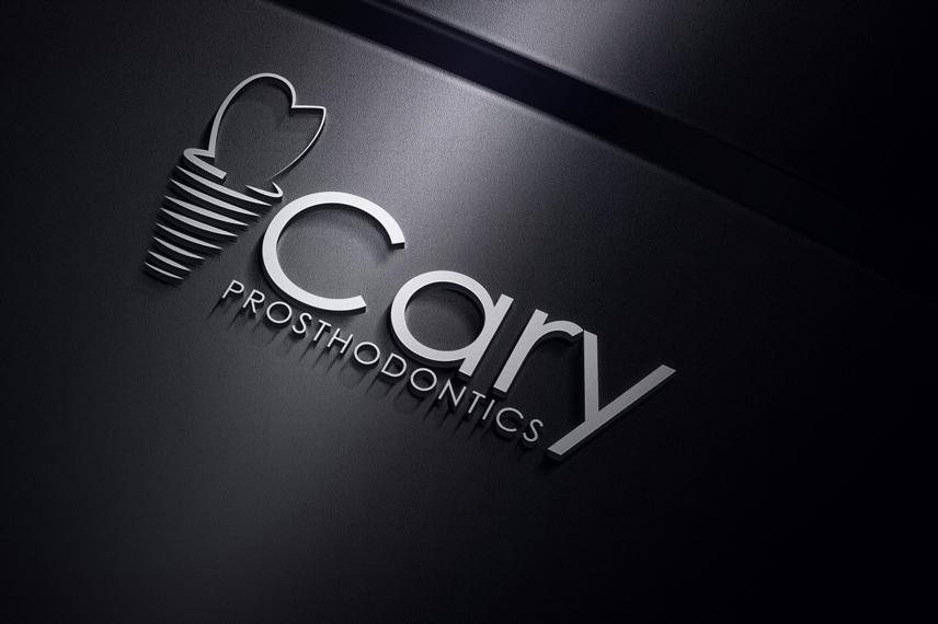 Logo Design by Private User - Entry No. 166 in the Logo Design Contest Cary Prosthodontics Logo Design.