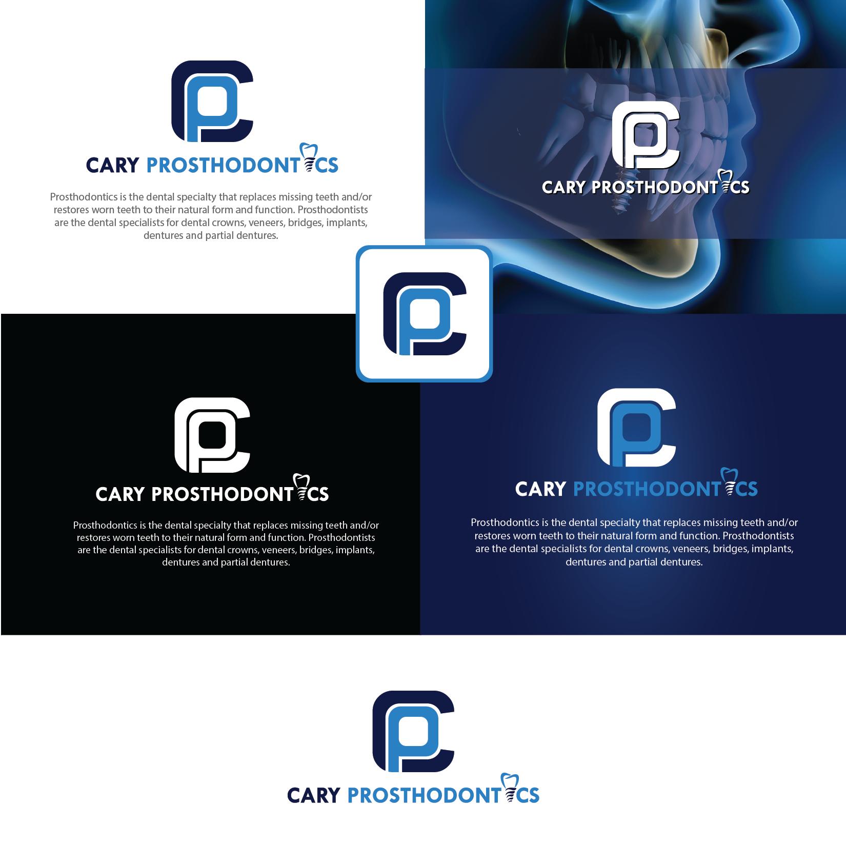 Logo Design by Private User - Entry No. 168 in the Logo Design Contest Cary Prosthodontics Logo Design.