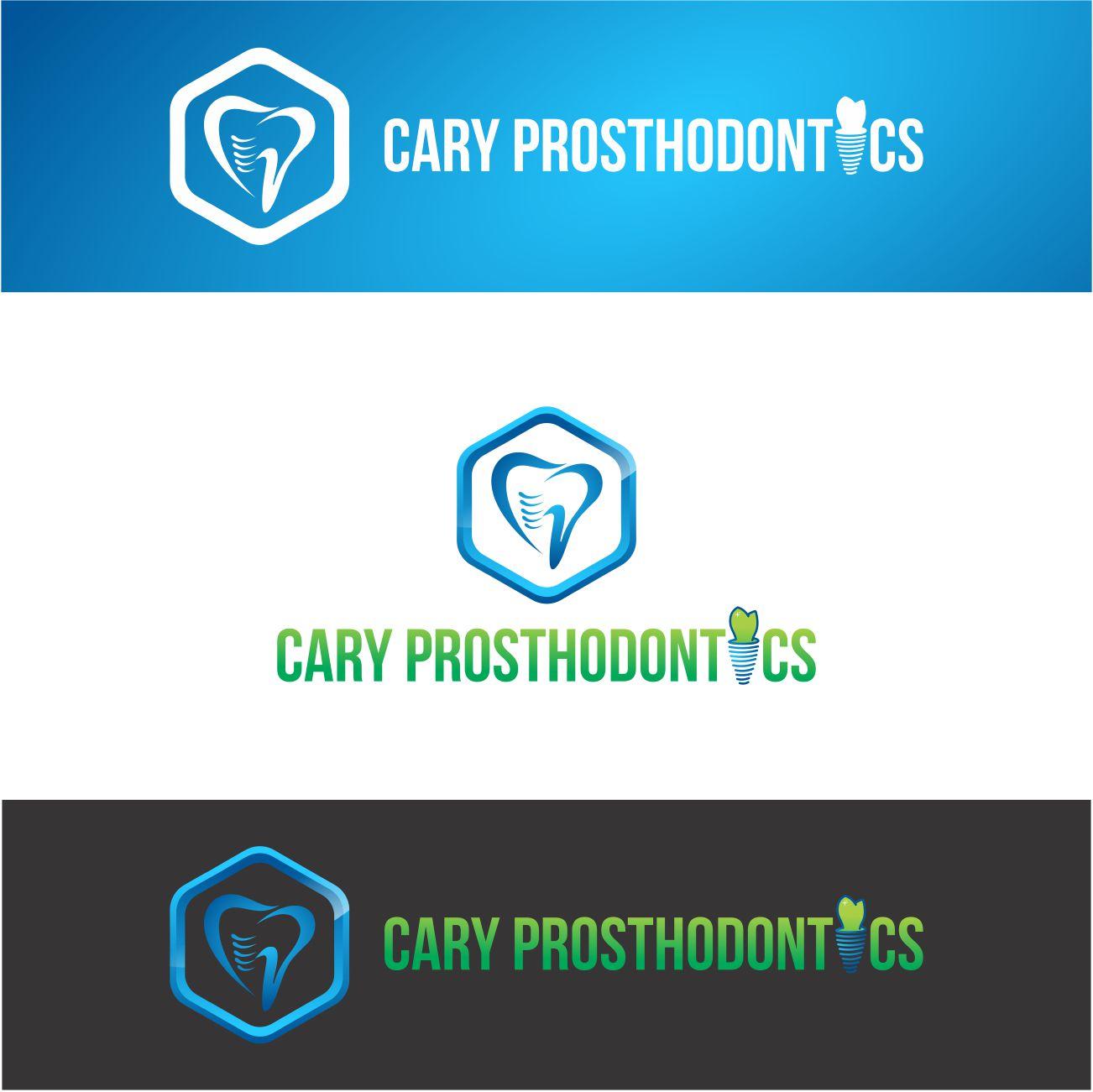 Logo Design by RasYa Muhammad Athaya - Entry No. 179 in the Logo Design Contest Cary Prosthodontics Logo Design.