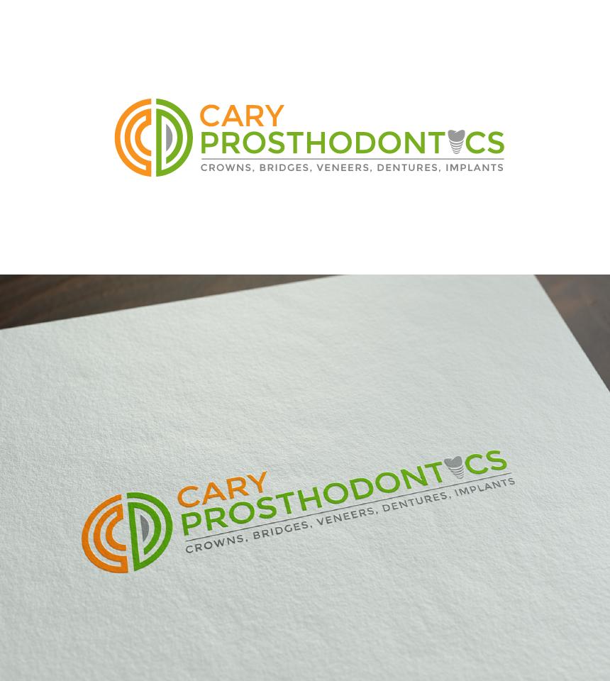 Logo Design by Juan Luna - Entry No. 185 in the Logo Design Contest Cary Prosthodontics Logo Design.