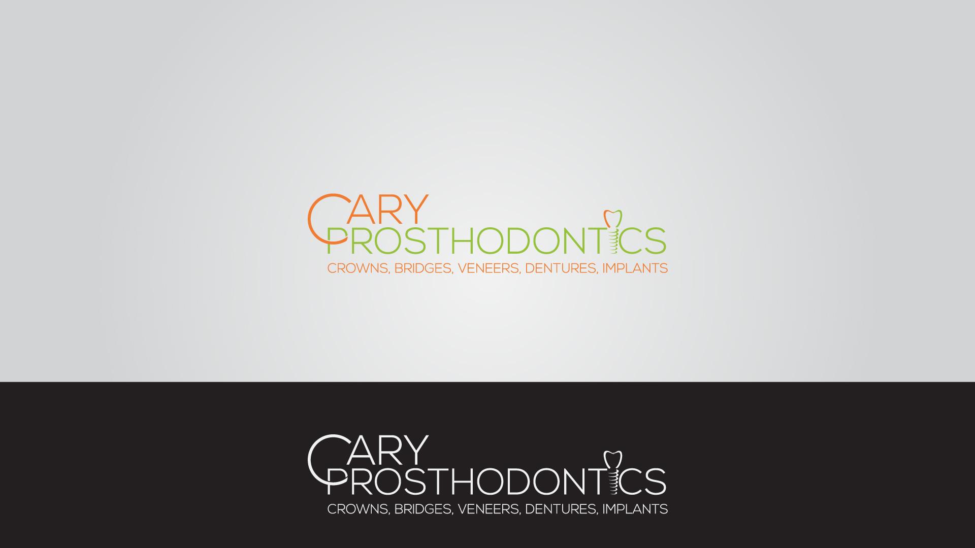 Logo Design by MD SHOHIDUL ISLAM - Entry No. 190 in the Logo Design Contest Cary Prosthodontics Logo Design.