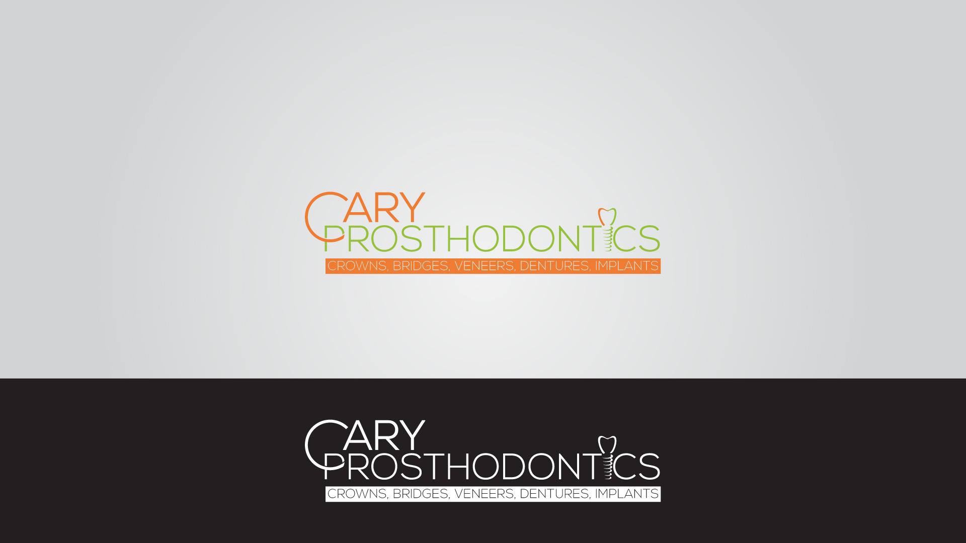 Logo Design by MD SHOHIDUL ISLAM - Entry No. 193 in the Logo Design Contest Cary Prosthodontics Logo Design.