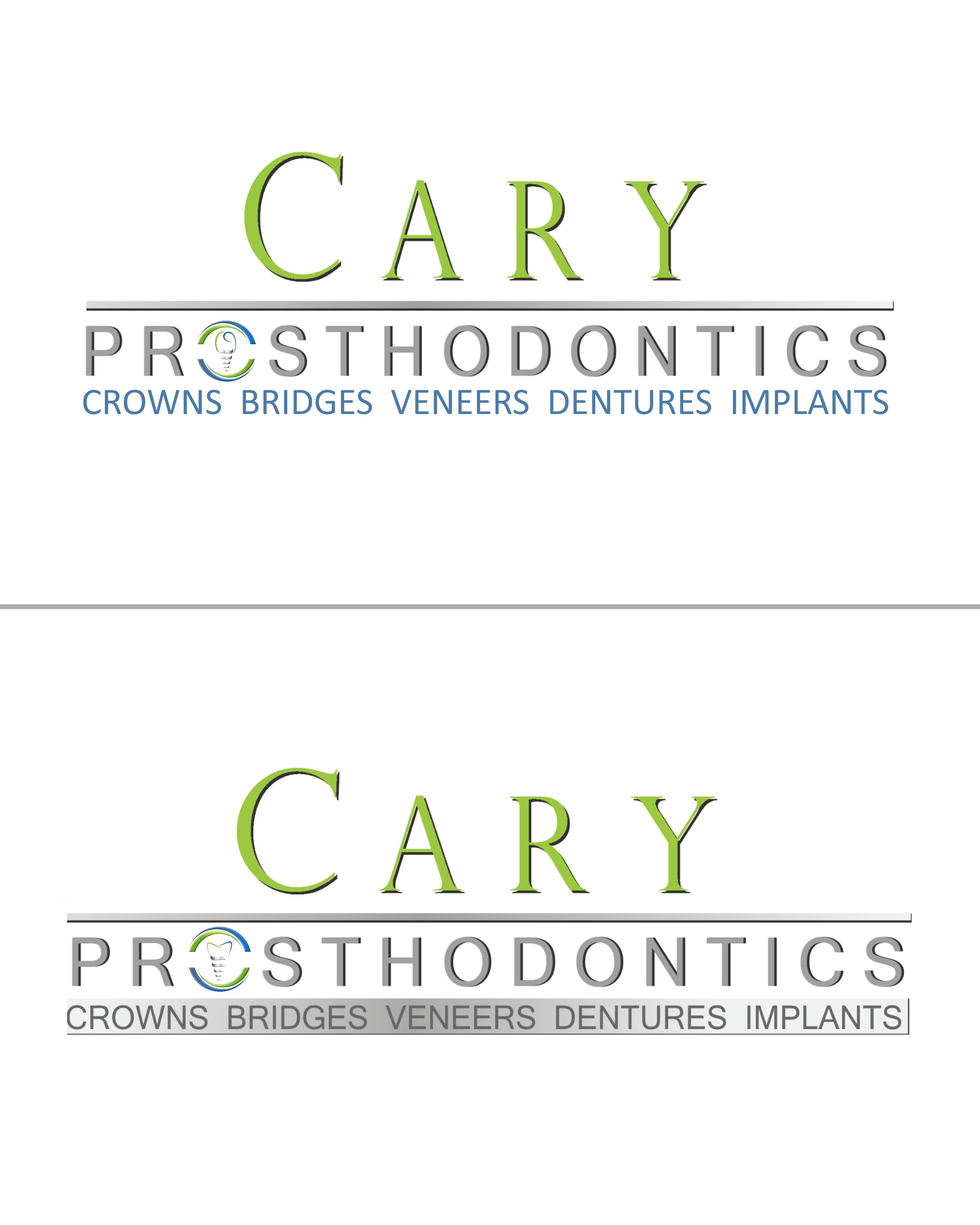 Logo Design by Roberto Bassi - Entry No. 196 in the Logo Design Contest Cary Prosthodontics Logo Design.