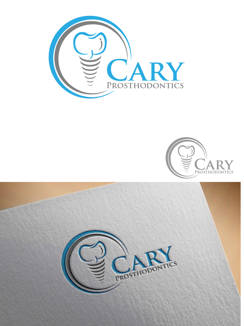 Logo Design by brands_in - Entry No. 197 in the Logo Design Contest Cary Prosthodontics Logo Design.