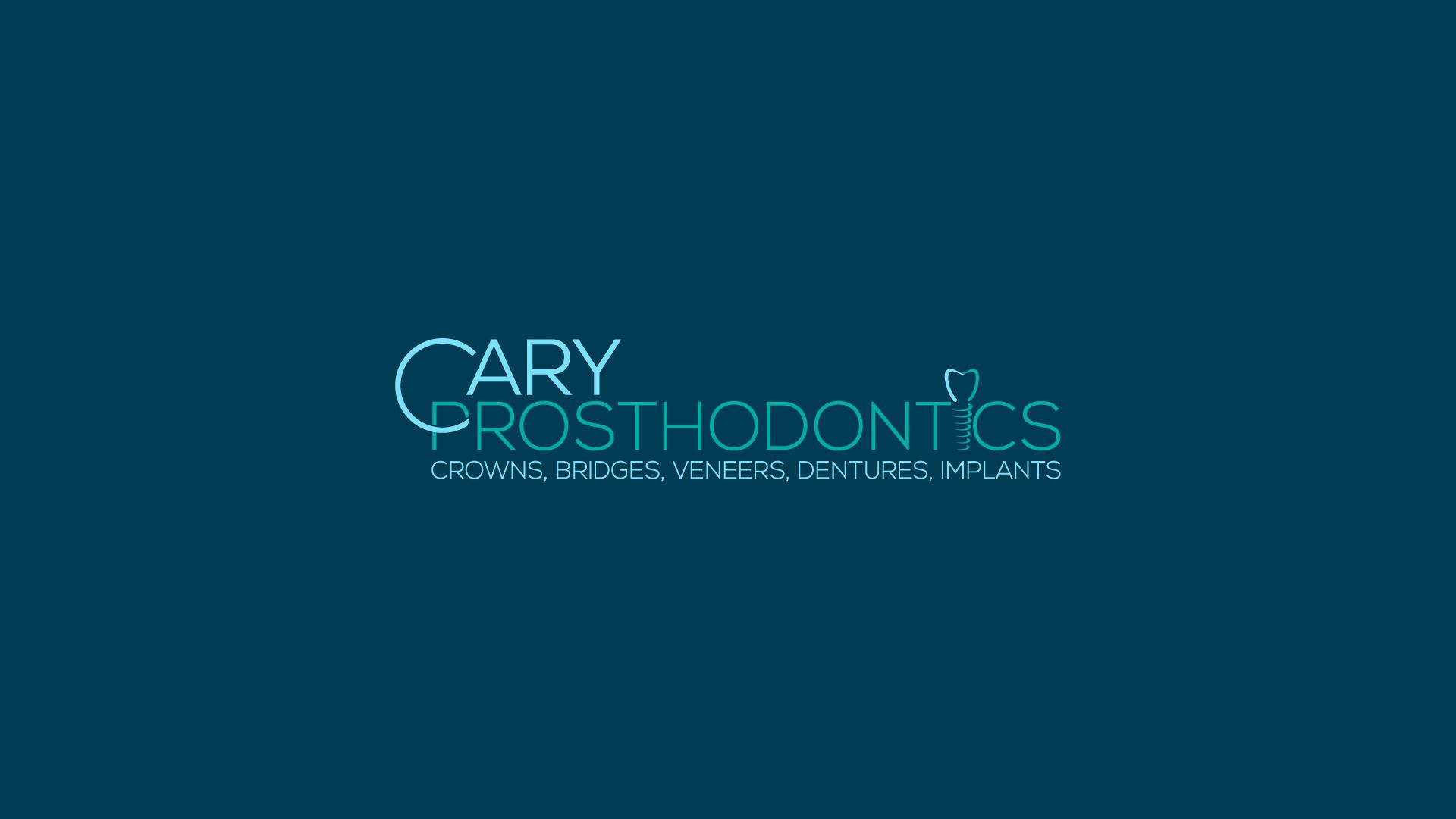 Logo Design by MD SHOHIDUL ISLAM - Entry No. 209 in the Logo Design Contest Cary Prosthodontics Logo Design.
