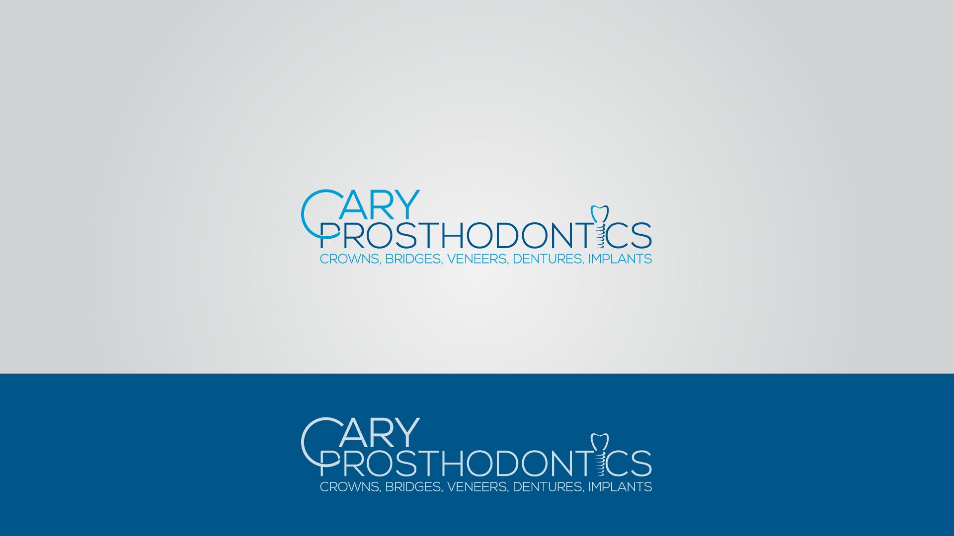 Logo Design by MD SHOHIDUL ISLAM - Entry No. 210 in the Logo Design Contest Cary Prosthodontics Logo Design.