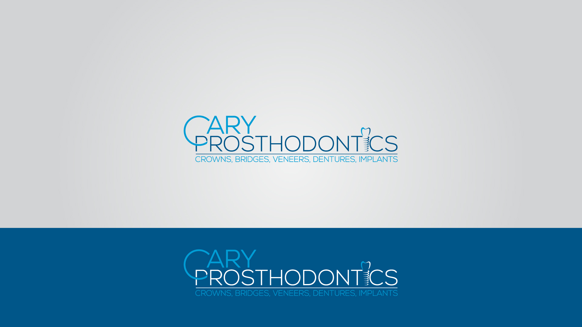 Logo Design by MD SHOHIDUL ISLAM - Entry No. 225 in the Logo Design Contest Cary Prosthodontics Logo Design.