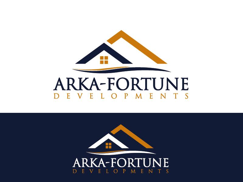 Logo Design by Private User - Entry No. 13 in the Logo Design Contest Arka-Fortune Developments Logo Design.