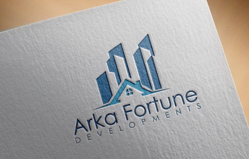 Logo Design by Private User - Entry No. 19 in the Logo Design Contest Arka-Fortune Developments Logo Design.