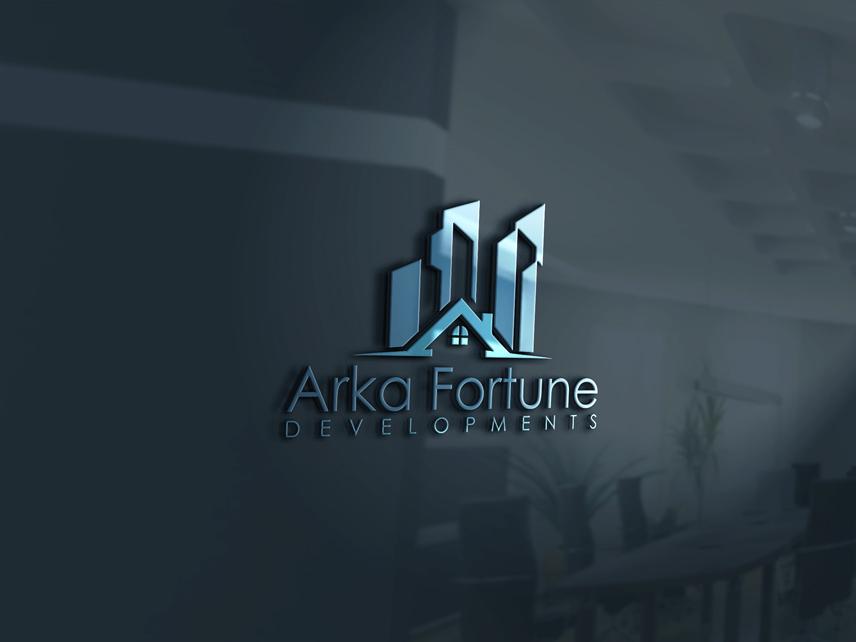 Logo Design by Private User - Entry No. 20 in the Logo Design Contest Arka-Fortune Developments Logo Design.