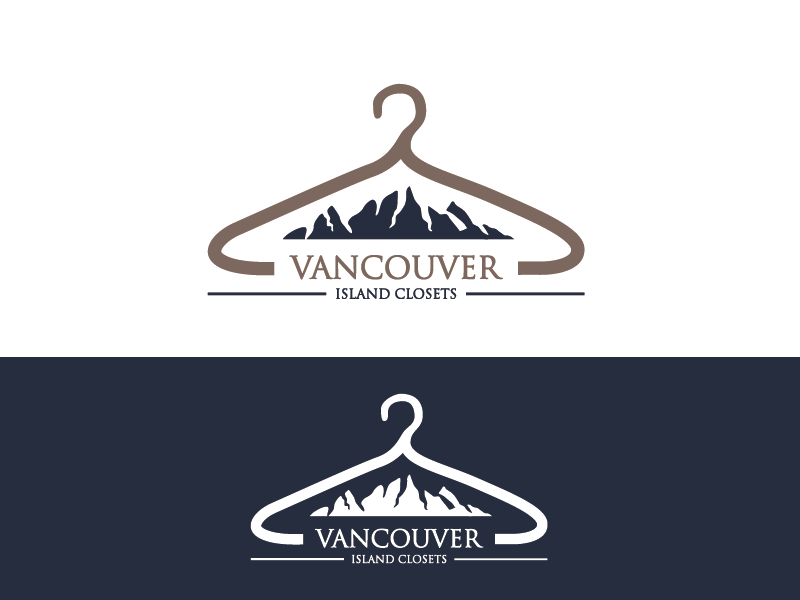 Logo Design by Private User - Entry No. 52 in the Logo Design Contest Captivating Logo Design for Vancouver Island Closets.