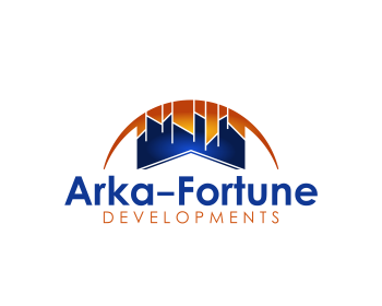 Logo Design by Net Bih - Entry No. 22 in the Logo Design Contest Arka-Fortune Developments Logo Design.