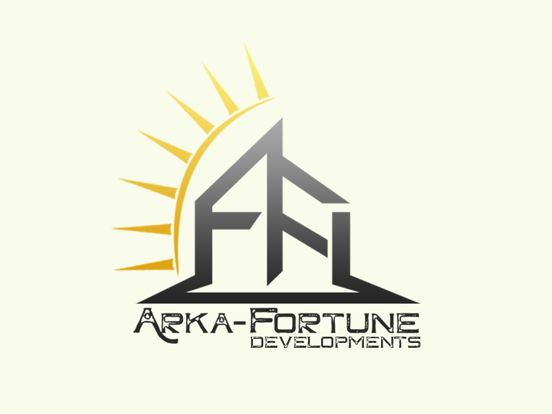 Logo Design by Julboy Salupan - Entry No. 28 in the Logo Design Contest Arka-Fortune Developments Logo Design.